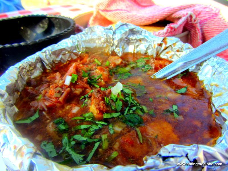 Mixiotes El Pato Restaurant food in San Miguel de Allende