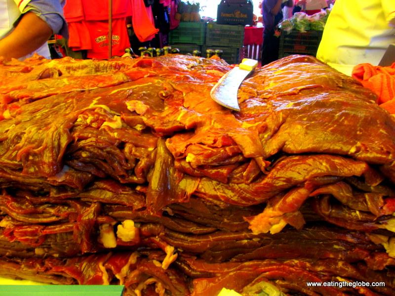 The el tianguis tuesday market in san miguel de allende mexico what