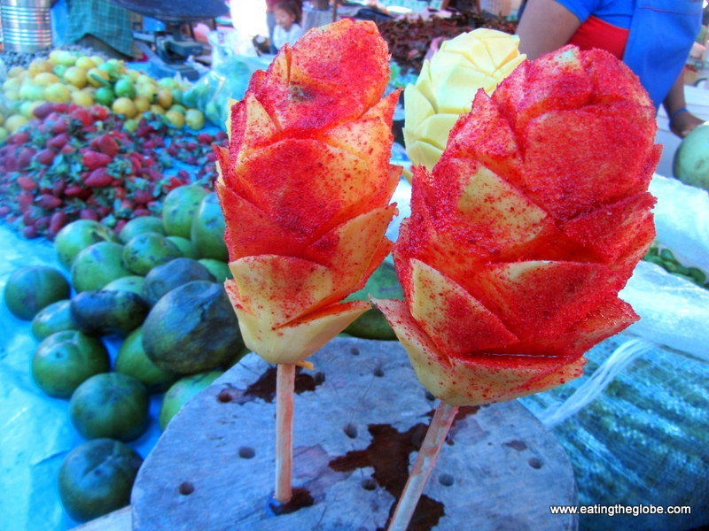 """Chile and Mango at Tuesday Market/""""El Tianguis"""""""