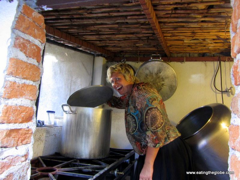Victoriano jam making in San Miguel de Allende