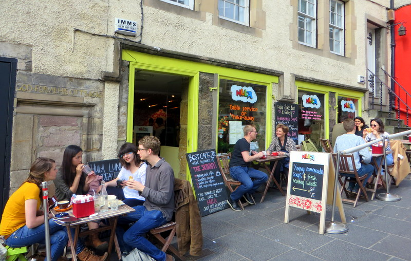 Hula Juice Bar, Edinburgh