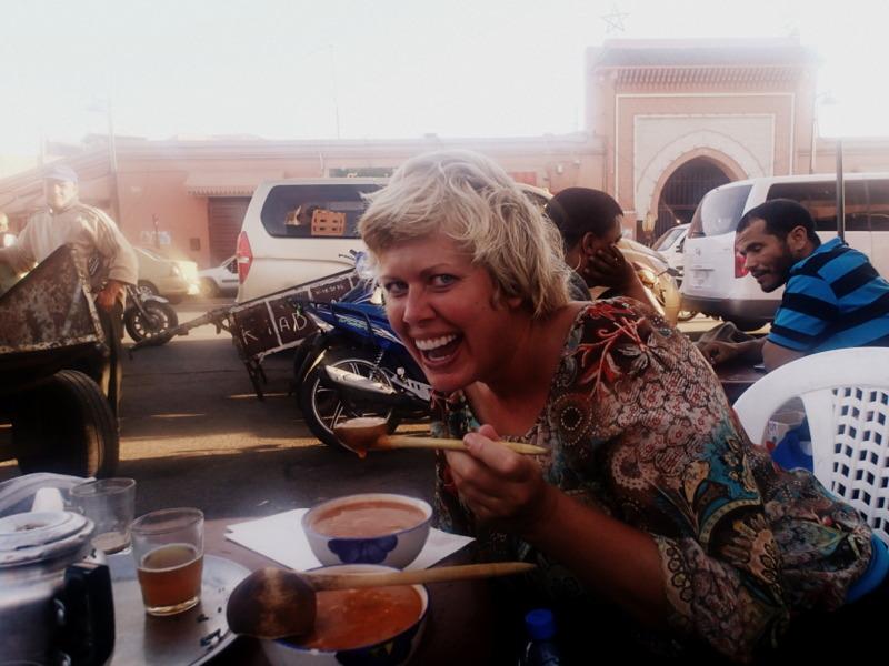 Eating Ramaddan Soup