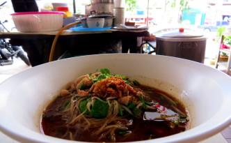 Boat noodle soup Chiang Mai