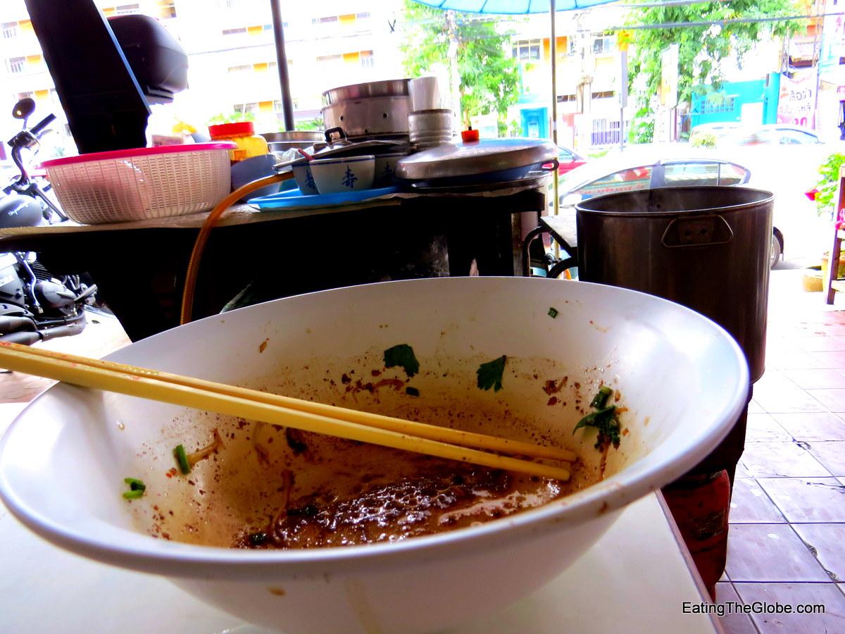 Chiang Mai boat noodle soup