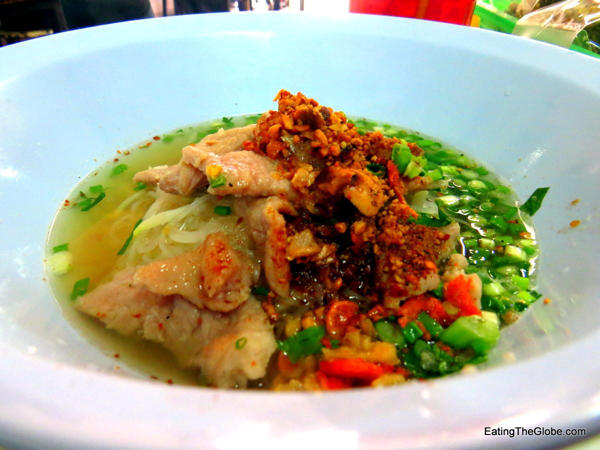 Tom yum soup Kuay Tiew Reur Rang Sit Go-Heng