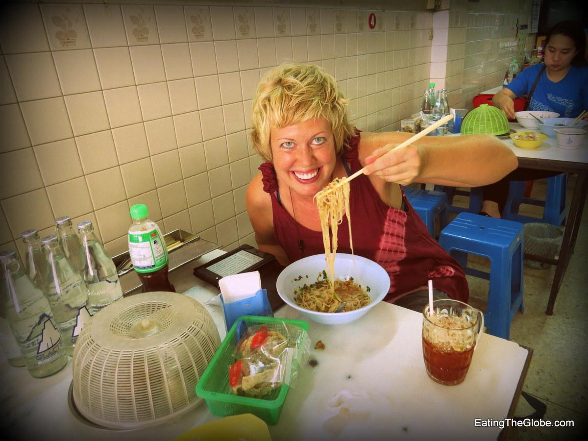 Valen Dawson Chiang Mai boat noodle soup