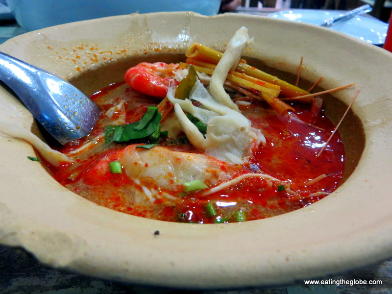 Khao Goong Rad Sauce Man Boo best Thai foods