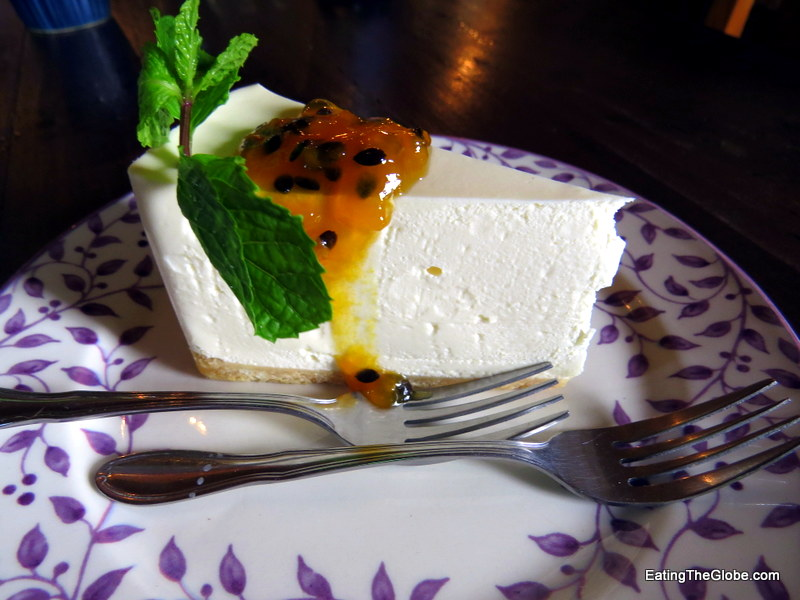 Chiang Mai Cafe Dindee cheesecake